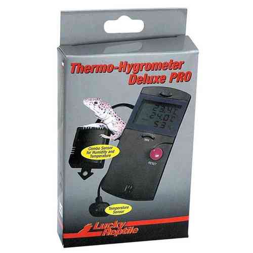 Lucky Reptile Thermo/Hygro Deluxe PRO mit 2 Fühlern