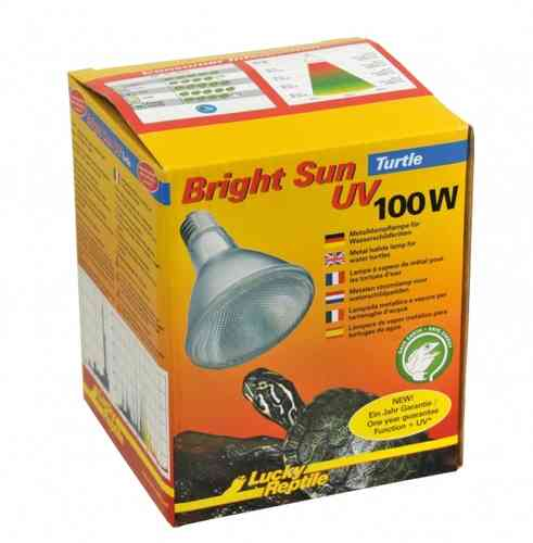Lucky Reptile Bright Sun Turtle, 100 Watt