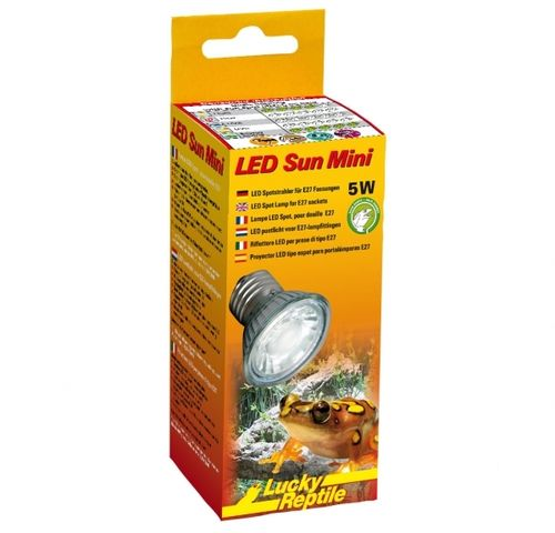 Lucky Reptile LED Sun Mini 5 Watt, E27
